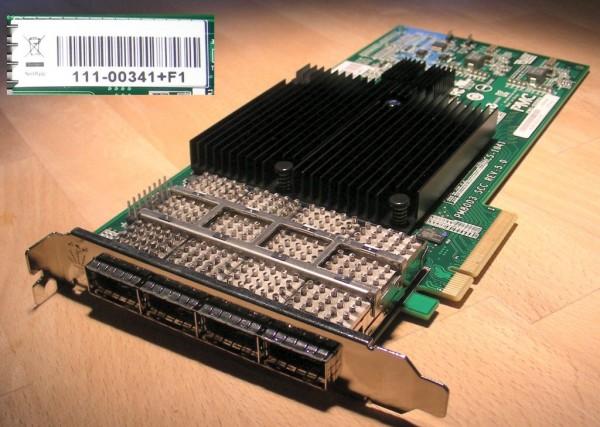 NetApp X2065A-R6 Quad Port PCIe 3/6Gb QSFP SAS Controller