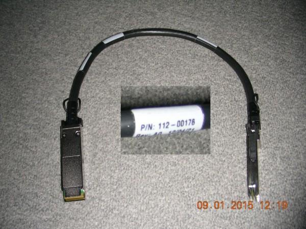 NetApp X6557 0.5m QSFP-QSFP Kabel