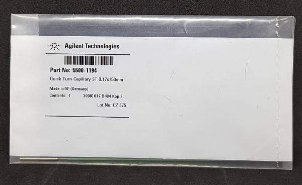 5500-1194 InfinityLab Quick Turn Kapillare 150 x 0.17mm