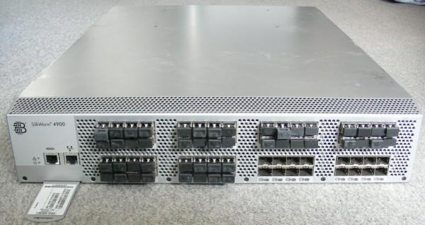 Brocade 4900 64-Port 4Gbit Full Fabric Switch - 48 P. aktiv