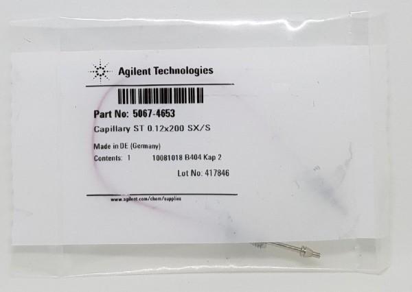5067-4653 LC Kapillare 200 x 0.12 mm, S/SX, ps/ps