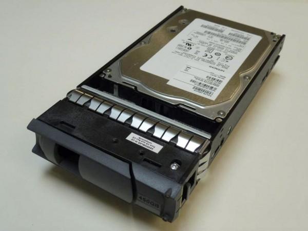 NetApp X411 450GB 15k SAS Festplatte inkl. DS4243 Tray