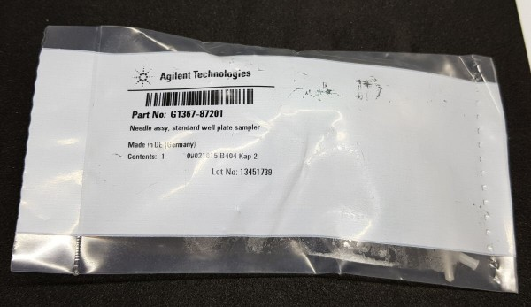 G1367-87201 Nadeleinheit f. Well Plate Autosampler