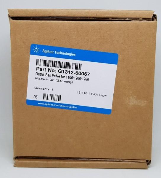 G1312-60067 Outlet Ball Valve 600 bar f. 1100, 1200, 1220 & 1260 Infinity Pumpen
