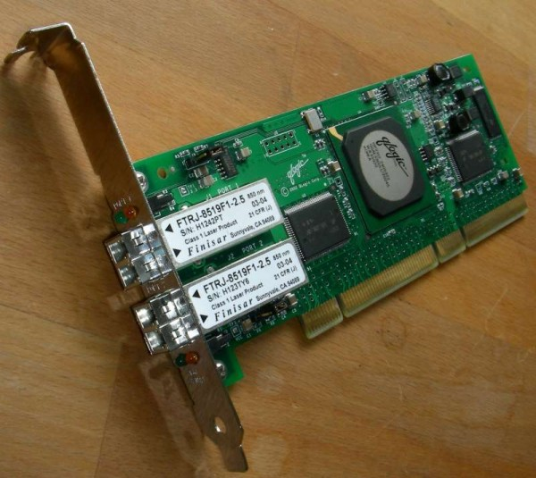 QLogic QLA2342 Dual Port 2Gbit PCI-X HBA