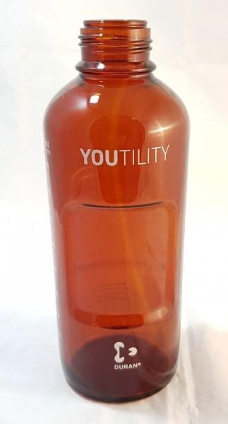 9301-6526 InfinityLab Solvent Bottle, amber