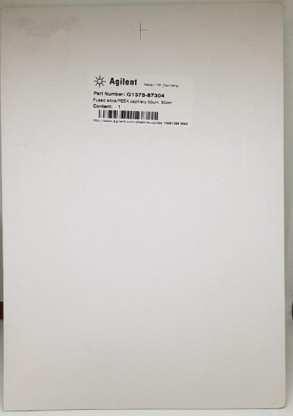 G1375-87304 Fused Silica/PEEK Kapillare
