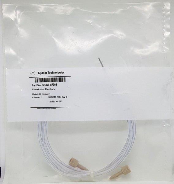 G1362-87301 Restriktionskapillare für G1362A RID