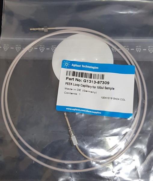 G1313-87309 Schleifenkapillare, biokompatibel 100µL f. G1313, G1329 ALS