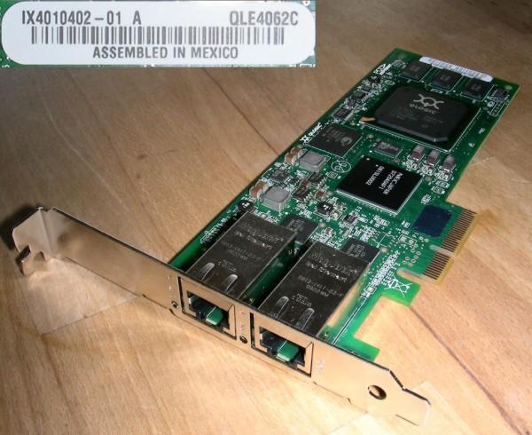QLogic QLE4062c Dual Port iSCSI PCIe HBA