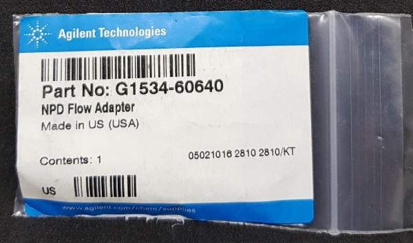 G1534-60640 Adapter zur NPD Flussmessung