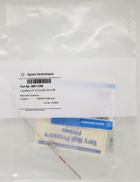 5067-4746 LC Kapillare 250 x 0.12 mm, M/SLV, ns/ns