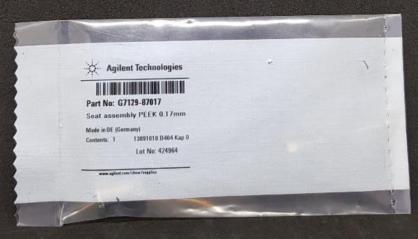 G7129-87017 PEEK Seat Assy f. 1290 Infinity II Vial Sampler, 0.17 mm