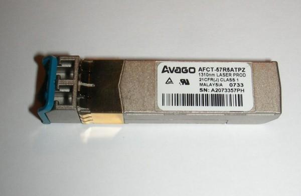 Avago AFCT57R5ATPZ - 4Gbit Long Range - 10km - SFP Fibre Channel