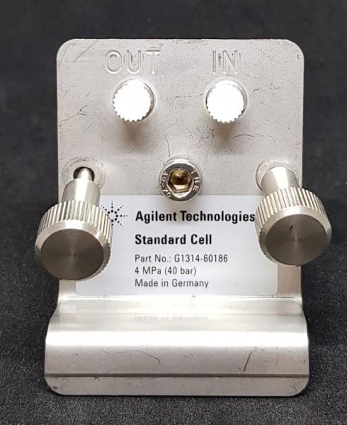G1314-60186 Standard-Durchflusszelle f. G1314D-F mit RFID Tag - NEU