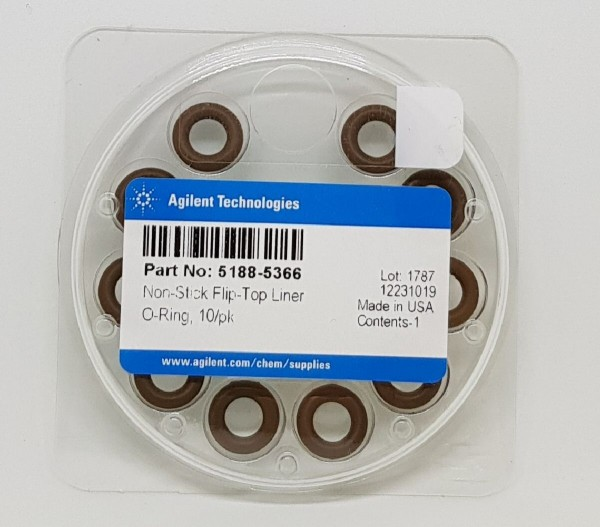 5188-5366 Flip Top Inlet Non Stick Liner O-Ring 10/pk