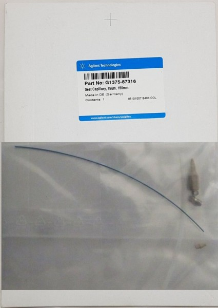 G1375-87316 Nadelsitzkapillare für Micro Well Plate Sampler